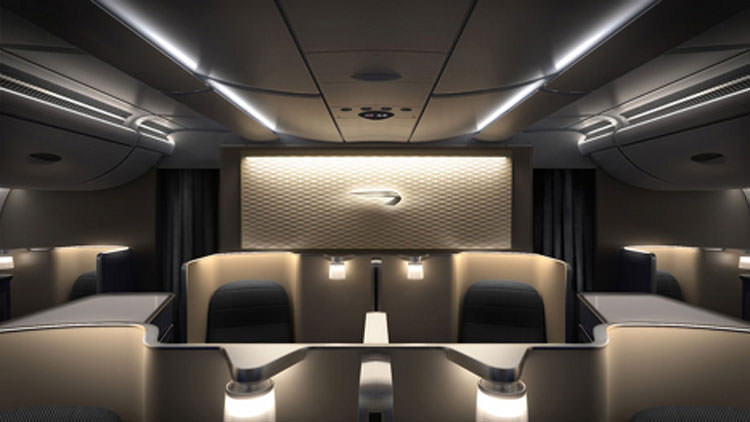 British Airways' new first class suites for Boeing 787-9