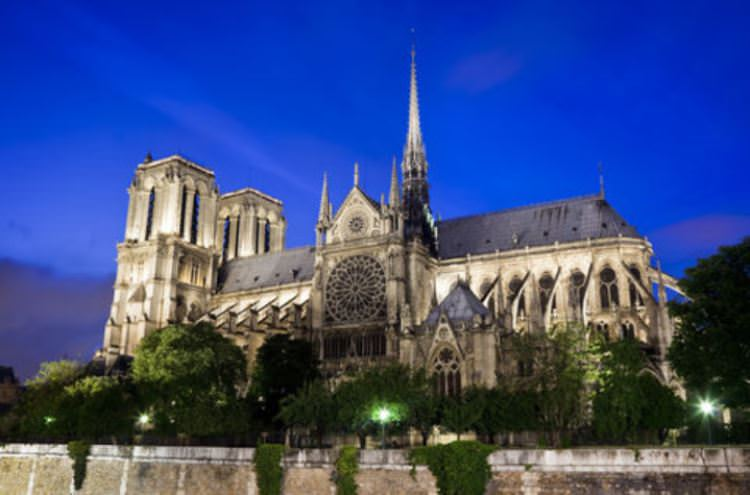 The breathtaking Notre Dame cathedral