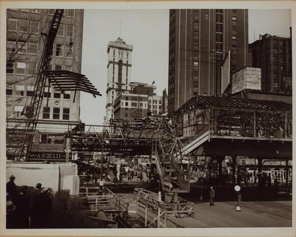 Elevated Train in 1939