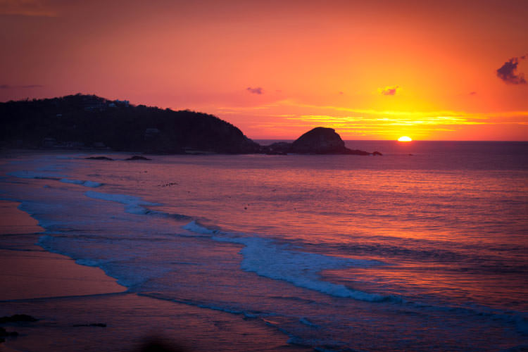 zipolite-sunrise