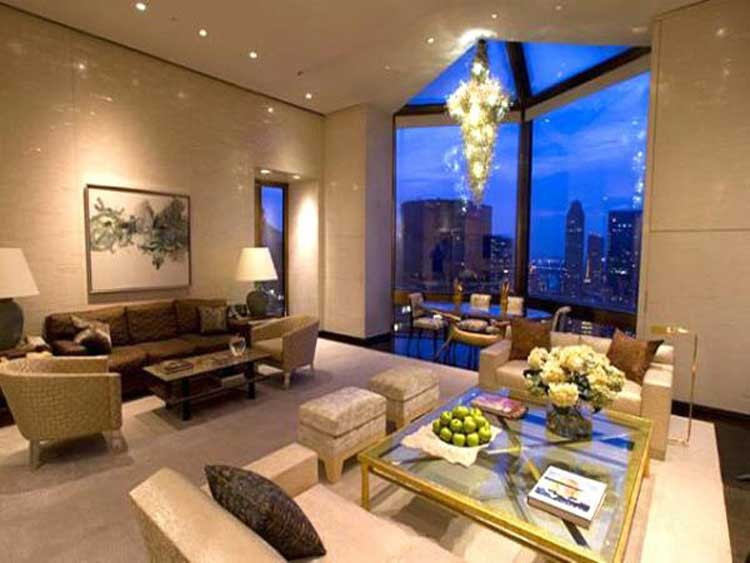 The Ty Warner Penthouse at the Four Seasons in New York