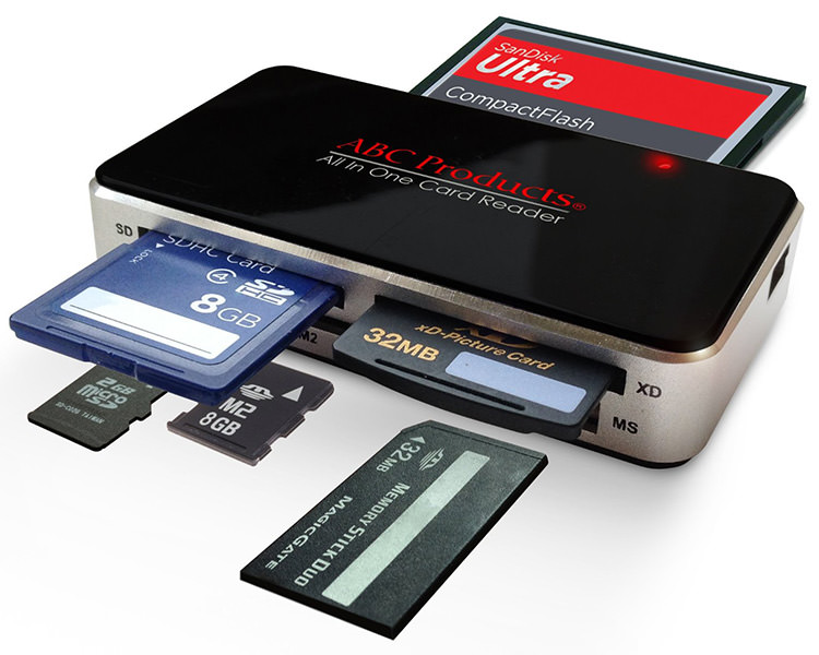 Timelaps Photography card reader
