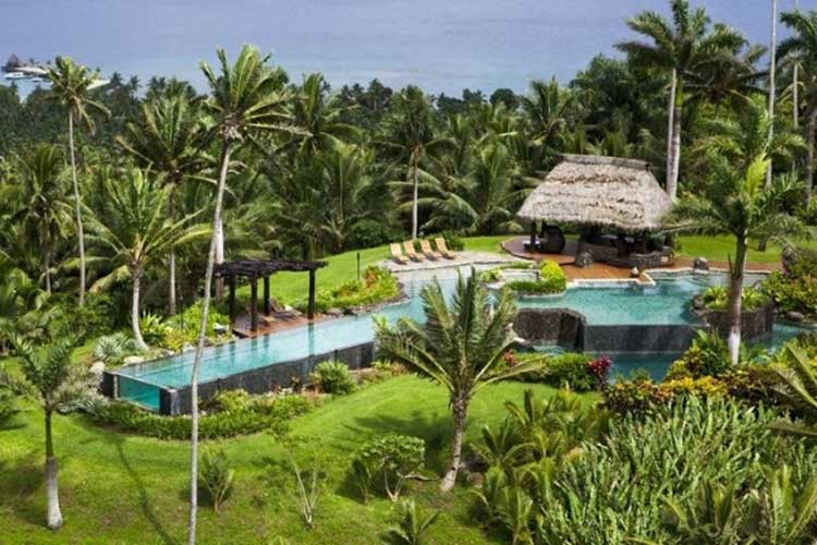 The Hilltop Estate Owner's Accommodation at the Laucala Island Resort in Fiji