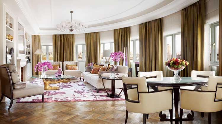 The Penthouse Suite at the Grand Hyatt Cannes Hotel