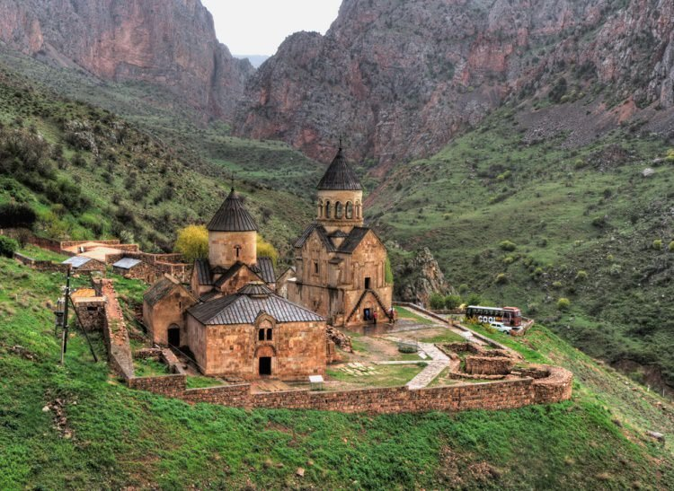 Noravank-Monastery-nearby-the-city-of-Yeghegnadzor-Armenia
