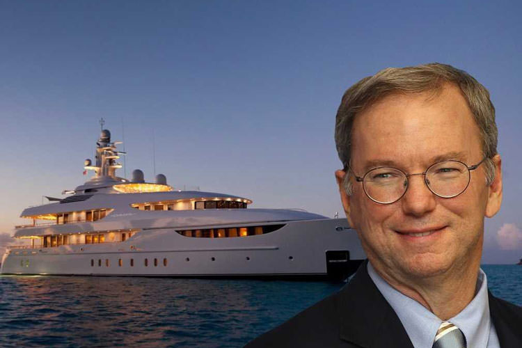 when-google-chairman-eric-schmidt-isnt-holed-up-in-one-of-his-mansions-hes-cruising-the-high-seas-on-his-194-foot-yacht-oasis-he-reportedly-paid-723-million-for-the-boat-in-2009
