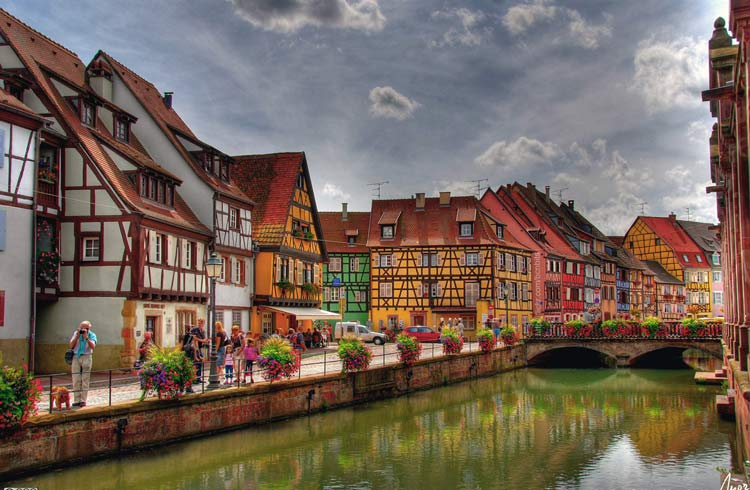 Colmar--Alsace--region--France-1