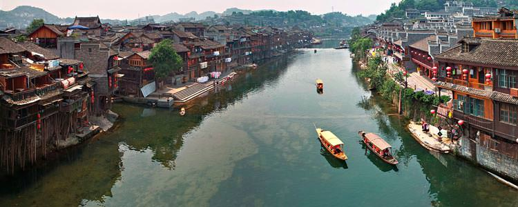 Fenghuang--(Phoenix-Ancient-Town)-Hunan--Province--China-1