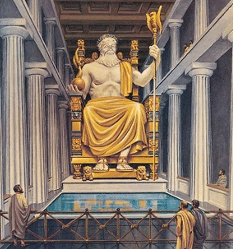 the-Statue-of-Zeus-at-Olympia1