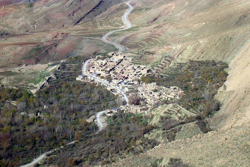 روستای زرده؛ روستایی با بیشترین آثار تاریخی و مردمانی مجروح از حملات شیمیایی