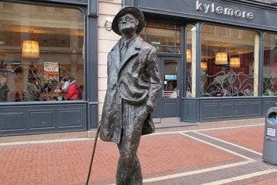 گردشگری ادبی: جیمز جویس؛ از دوبلین تا زوریخ