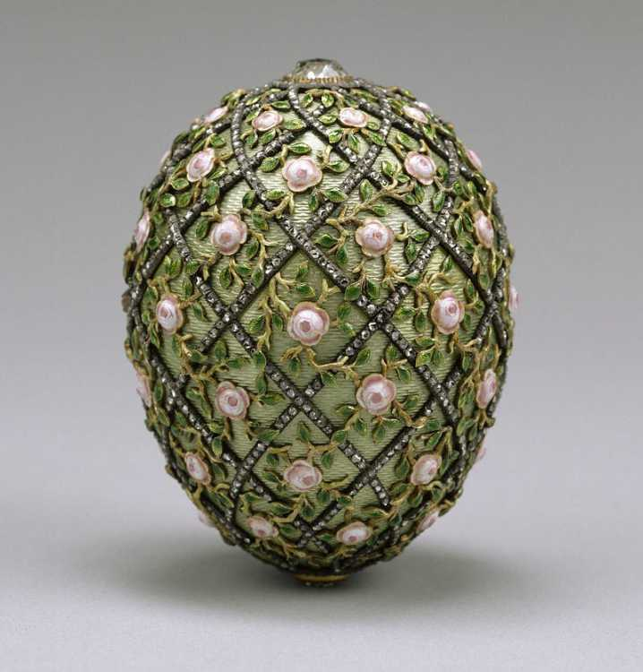 The Rose Trellis Egg, 1907