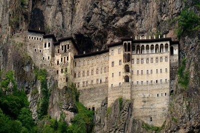 صومعه سوملای ترابزون، منظره دیدنی صومعه هزار ساله در ترکیه