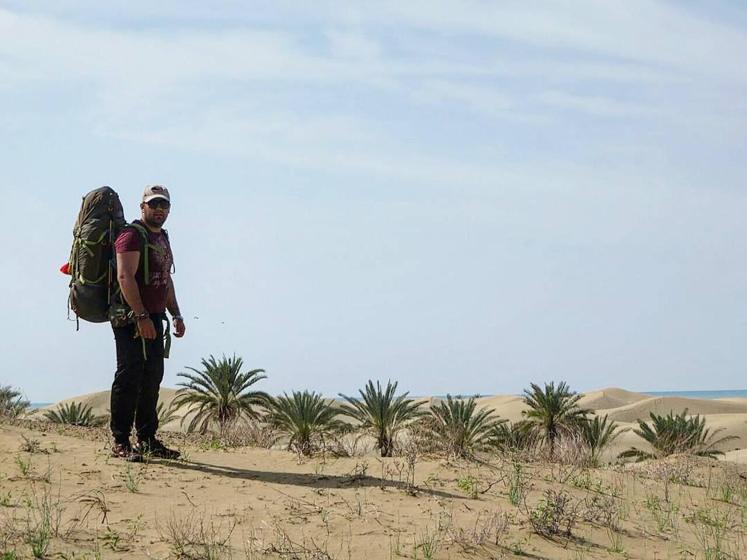 ارامش کمپ در کنار ساحل زیبای درک