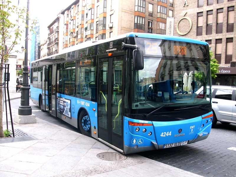 حمل و نقل عمومی در مادرید، اسپانیا