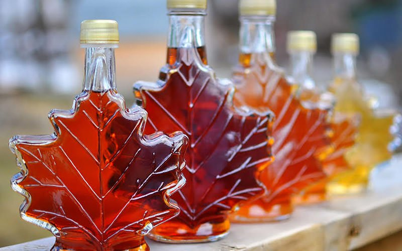 شیره درخت افرا (Maple syrup) – کانادا