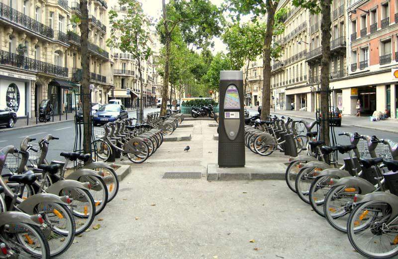 دوچرخه کرایهای پاریس