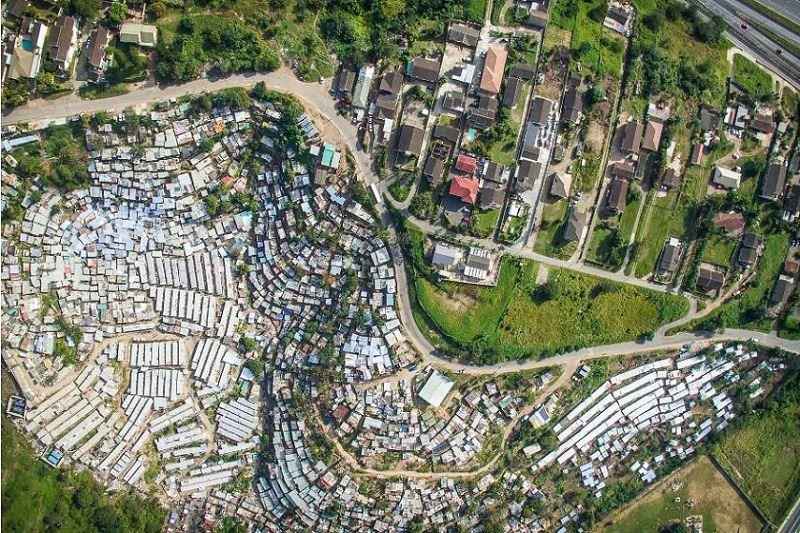 تصاویر هوایی از کیپ تاون
