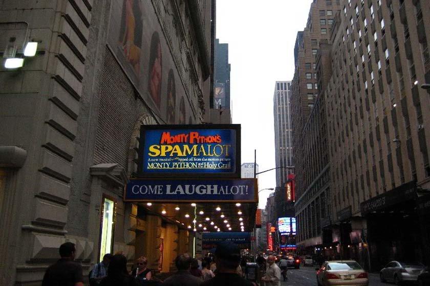 منطقه تئاتر برادوی نیویورک