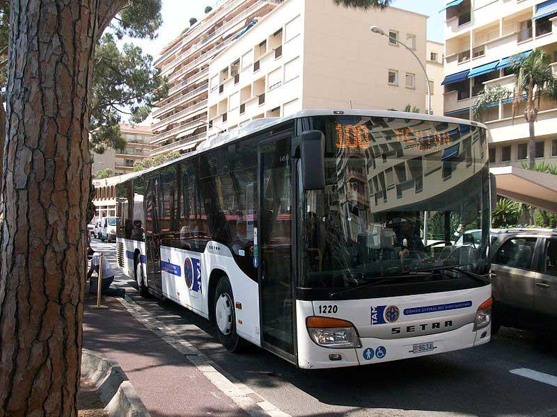 حمل و نقل عمومی در موناکو