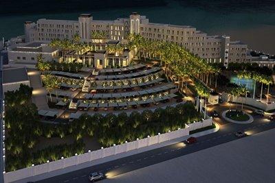 افتتاح مجتمع تفریحی فجیره در دبی