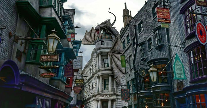 diagon alley harry potter