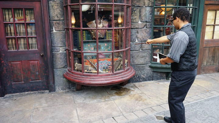interactive wands