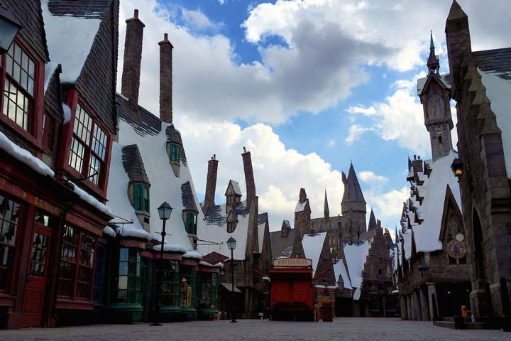 Hogsmeade harry potter world