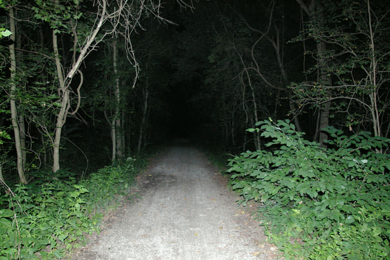 zombie road haunted roads
