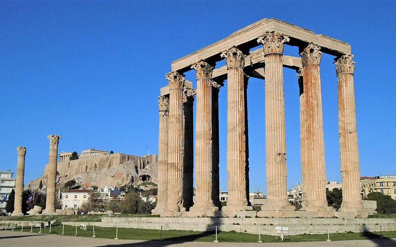 معبد زئوس المپیا (Temple of Zeus)