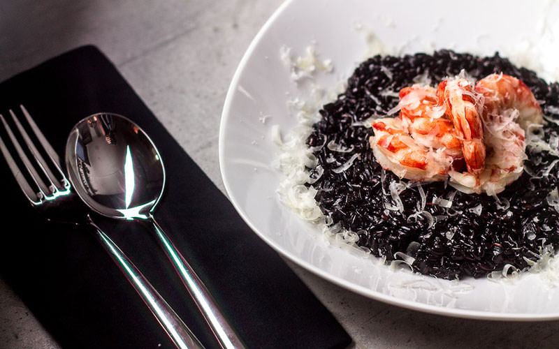 ریزوتوی سیاه (Black Risotto)