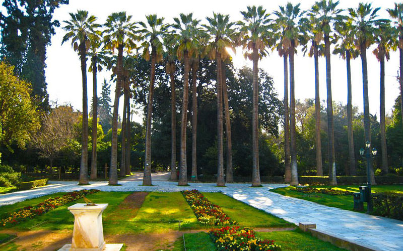 باغ ملی آتن (The Athens National Garden)
