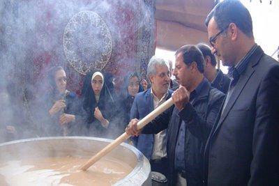 برگزاری پنجمین جشنواره سمنو آشتیان