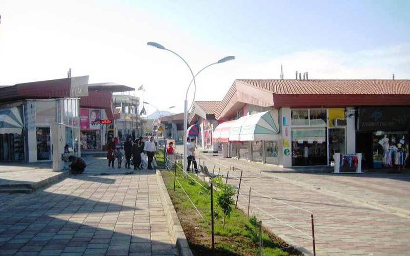 بازار بزرگ مرزی منطقه آزاد ماکو