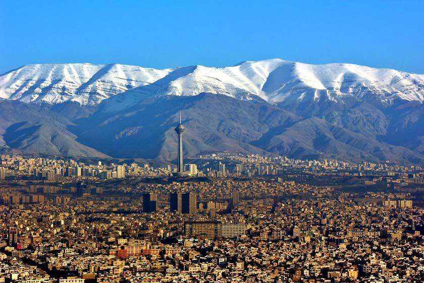 خنک شدن هوای تهران