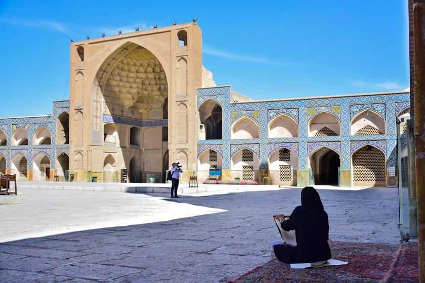 مسجد جامع اصفهان از نگاه سفرنامه نویسان خارجی