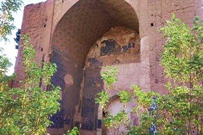 قبه سبز؛ مدرسه علمی ترکان خاتون در کرمان