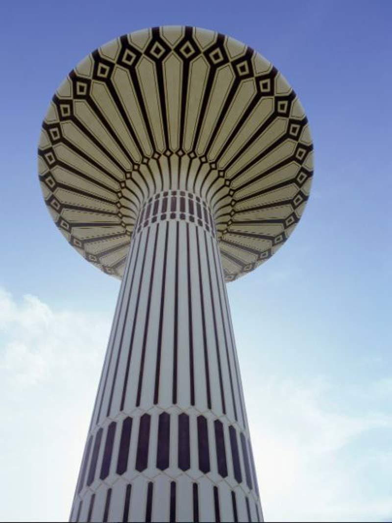 برج آب دبی
