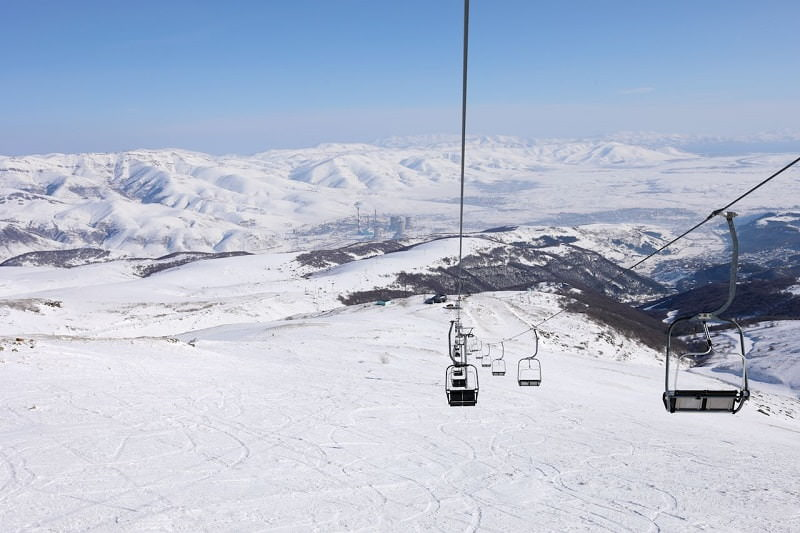 پیست اسکی زاخکازور / Tsaghkadzor ski resort