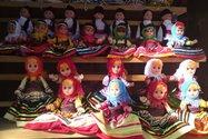 عروسک های کاموایی رنگارنگ ماسوله