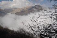 چشم اندازی از کوه های ماسوله