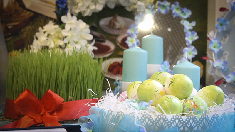 What are the letters of Nowruz in Iran?