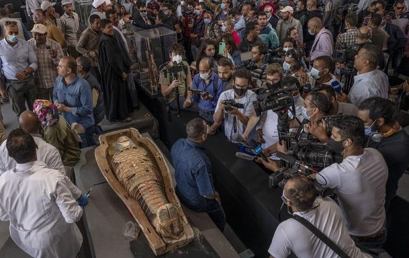 رونمایی از تابوتهای چوبی در مصر