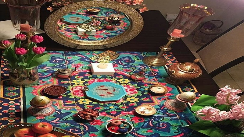 Photo of Haft Sin tablecloth