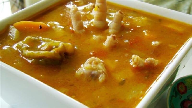 طرز تهیه سوپپای مرغ و سبزیجات