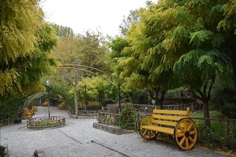 پارک پونه در طرقبه مشهد