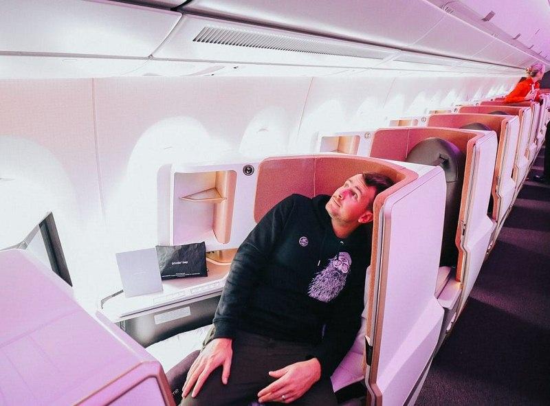 بهداشت در هواپیما